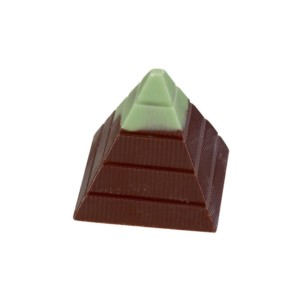 Mint Cream Pyramid