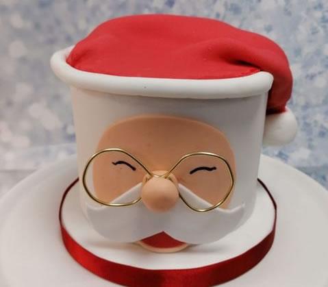 Father Christmas Sponge Cake